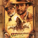Indiana Jones Signed Movie Poster