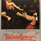 BLOODSPORT Signed Movie Poster