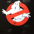 GHOSTBUSTERS SIGNED POSTER