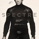 SPECTRE SIGNED MOVIE POSTER