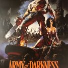 ARMY OF DARKNESS SIGNED POSTER