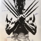 WOLVERINE SIGNED POSTER