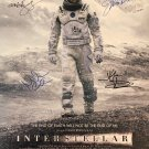 INTERSTELLAR SIGNED POSTER