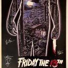 Friday the 13th Signed Movie Poster