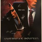 American Psycho Signed Movie Poster