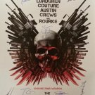 Expendables Signed Movie Poster