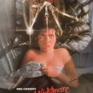 A NIGHTMARE ON ELM STREET SIGNED POSTER