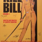 Kill Bill Signed Movie Poster
