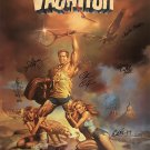 National lampoon's vacation Signed Poster