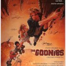 GOONIES SIGNED POSTER