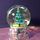 Reed And Barton Christmas Tree Music & Motion Snow Globe
