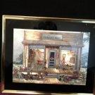 Uncle Joe's TRADING POST - Old-Fashion Coca-Cola Framed 10x 8 Metal Foil Art