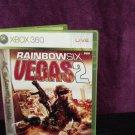 XBOX 360 GAME TOM CLANCY'S RAINBOW SIX VEGAS 2 Like Brand New