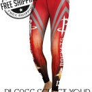 Houston Rockets Basketball Team Sports Leggings
