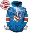 Oklahoma City Thunders Basketball Team Sport Hoodie