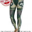 New York Jets Football Team Sports Leggings
