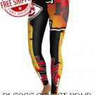 Kansas City Chiefs Football Team Sports Leggings