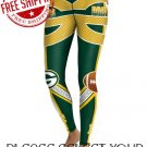 Green Bay Packers Football Team Sports Leggings