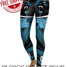 Carolina Panthers Football Team Sports Leggings