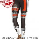 Cleveland Browns Football Team Sports Leggings