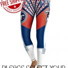 Tennessee Titans Football Team Sports Leggings