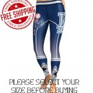 Los Angeles Dodgers Baseball Team Sports Leggings