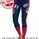 Cleveland Indians Baseball Team Sports Leggings