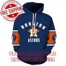 Houston Astros Baseball Team Sport Hoodie