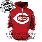 Cincinnati Reds Baseball Team Sport Hoodie