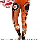 Philadelphia Flyers Hockey Team Sports Leggings