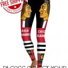 Chicago Blackhawks Hockey Team Sports Leggings