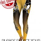 Pittsburgh Penguins Hockey Team Sports Leggings