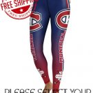 Montreal Canadiens Hockey Team Sports Leggings
