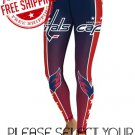 Washington Capitals Hockey Team Sports Leggings