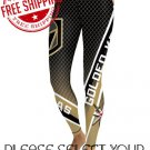 Las Vegas Golden Knights Hockey Team Sports Leggings