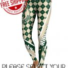 Milwaukee Bucks Basketball Team Sports Leggings