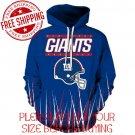 New York Giants Football Team Sport Hoodie