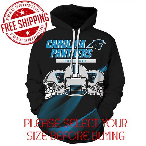 Carolina Panthers Football Team Sport Hoodie