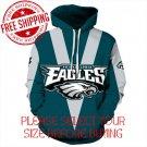 Philadelphia Eagles Football Team Sport Hoodie