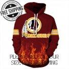 Washington Redskins Football Team Sport Hoodie