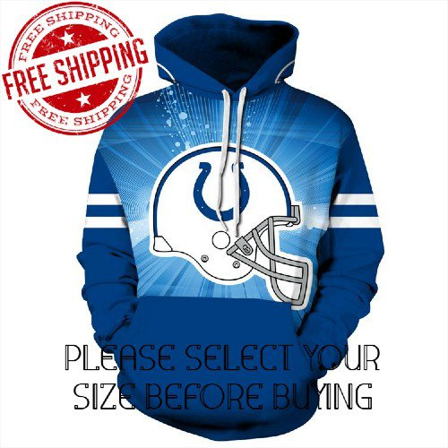 Indianapolis Colts Football Team Sport Hoodie