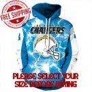 Los Angeles Chargers Football Team Sport Hoodie