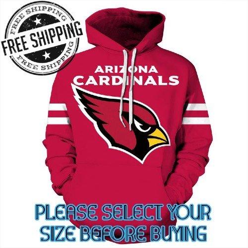 Arizona Cardinals Football Team Sport Hoodie