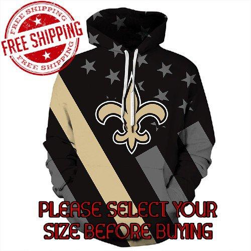 New Orleans Saints Football Team Sport Hoodie