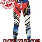 Baltimore Ravens Football Team Sports Leggings