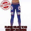 New York Giants Football Team Sports Leggings