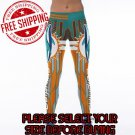 Miami Dolphins Football Team Sports Leggings