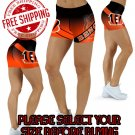 Cincinnati Bengals Football Team Sports Shorts