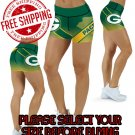 Green Bay Packers Football Team Sports Shorts