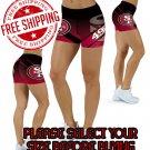 San Francisco 49ers Football Team Sports Shorts